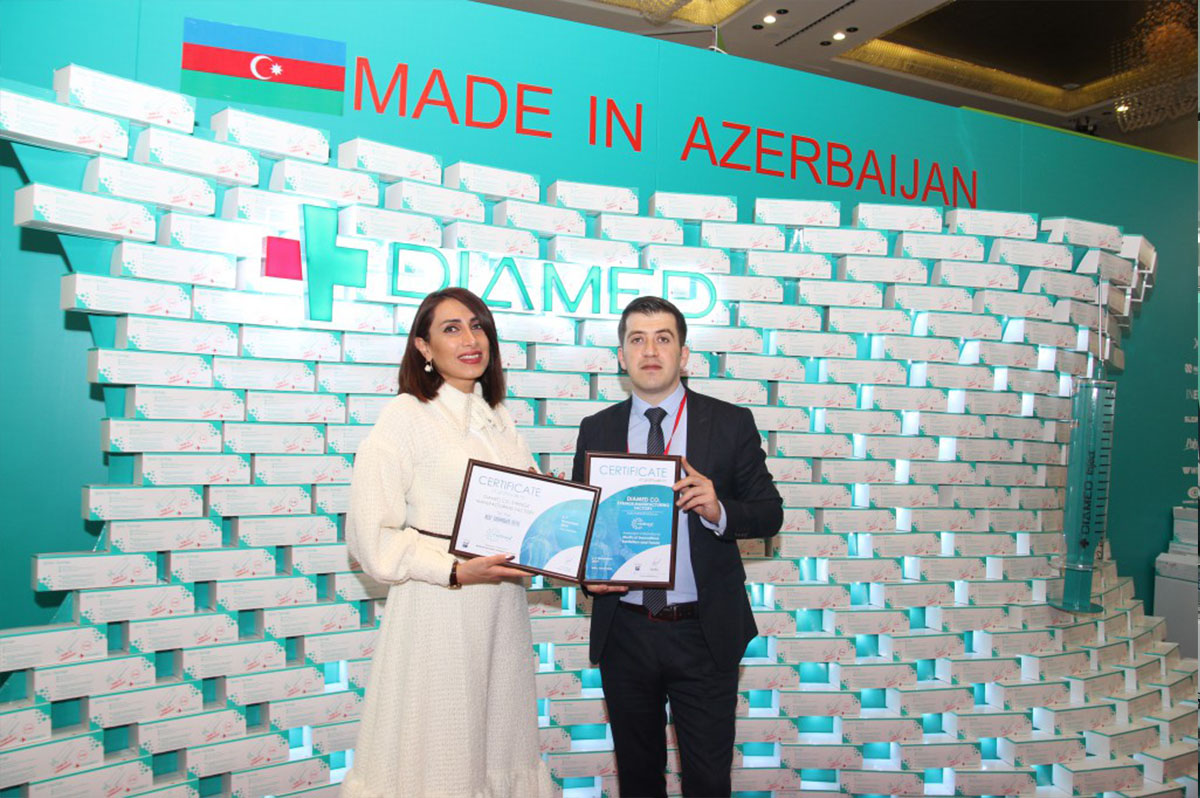 """Diamed Co"" Was Awarded a Certificate in an International Exhibition"
