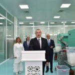 """Pirallahı Sənaye Parkında """"Diamed Co"""" şpris istehsalı zavodunun açılış mərasimi"""